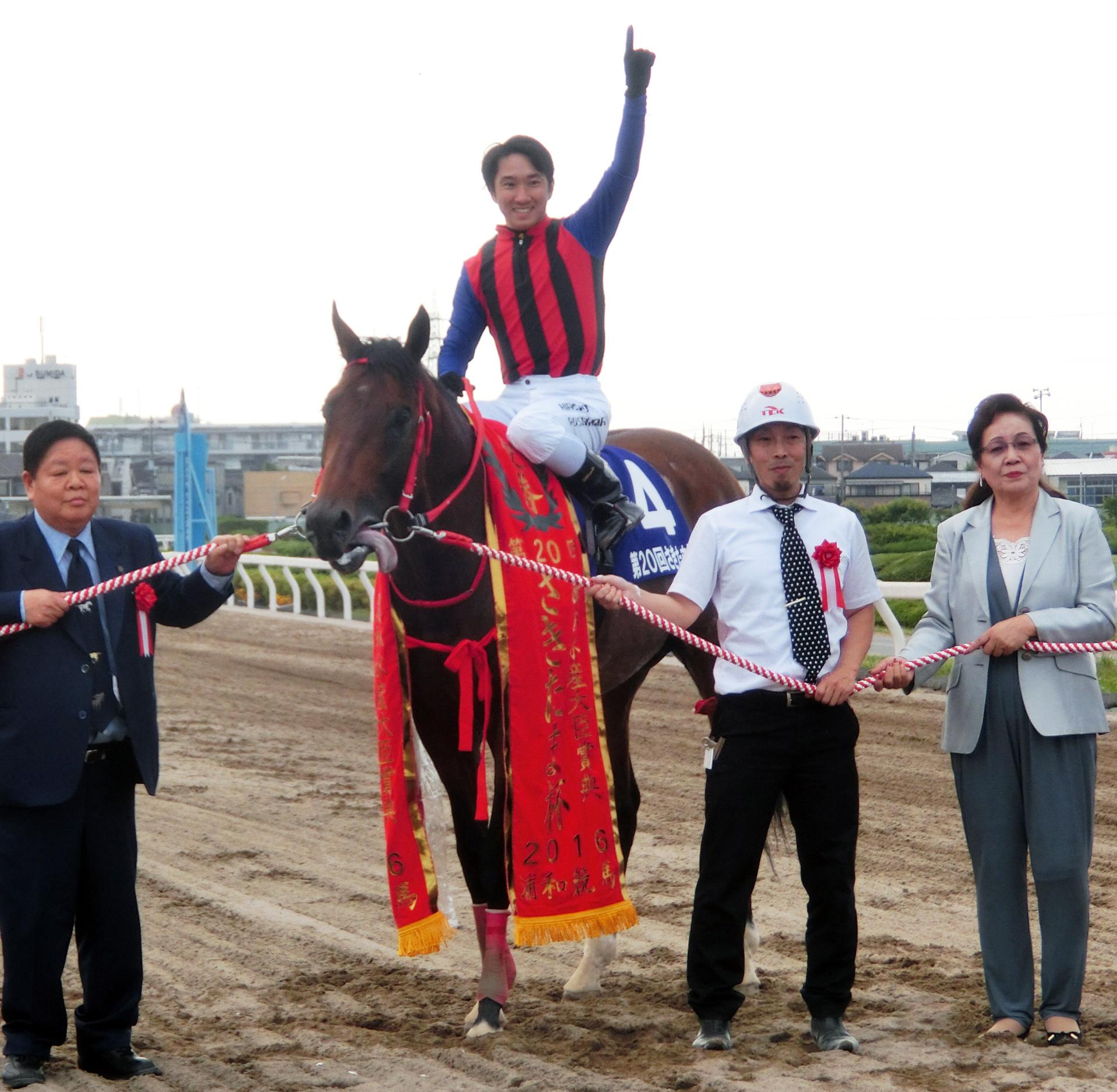 16年のNAR年度代表馬ソルテが引退、重賞10勝