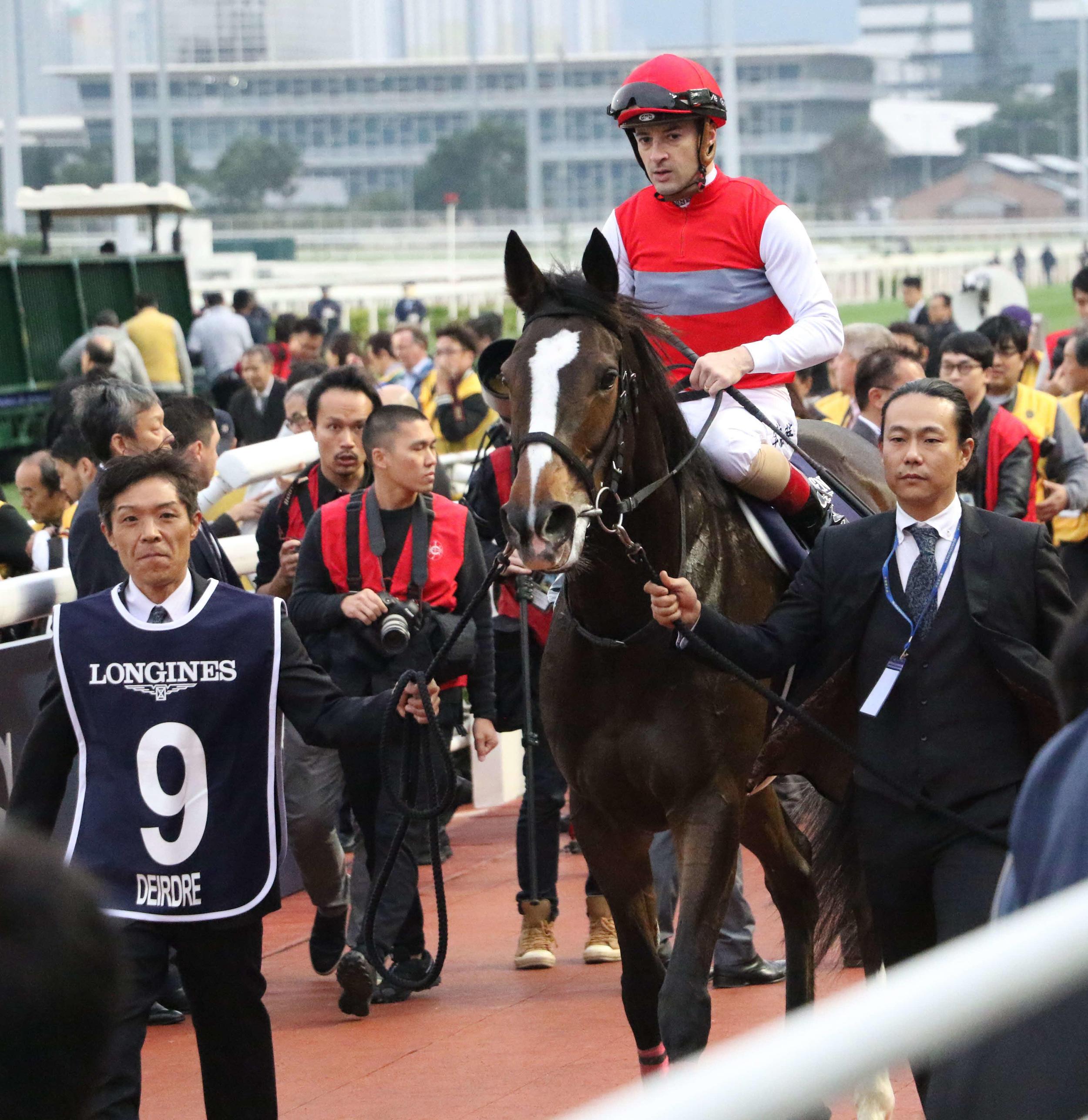 ディアドラ2着、悔し日本馬2年連続勝てず/香港C